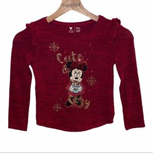 DISNEY Jumping Beans Minnie Mouse Girls Top